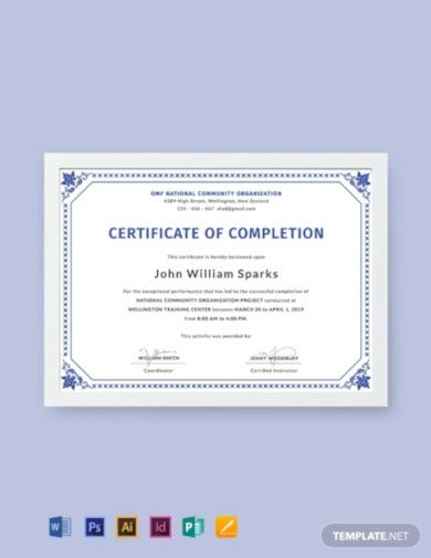 free-certificate-of-project-completion-template