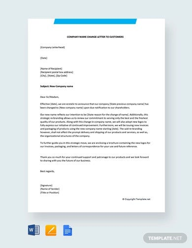 free-company-name-change-letter-to-customers