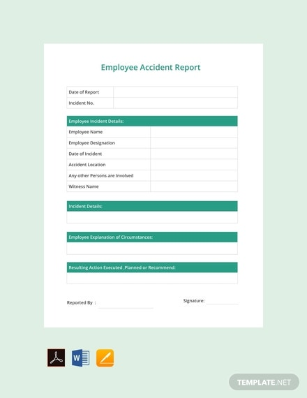 free employee accident report template 440x570 1
