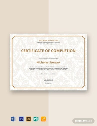 free-project-completion-certificate-template