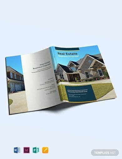 free real estate business proposal template