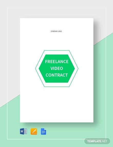 freelance video contract template