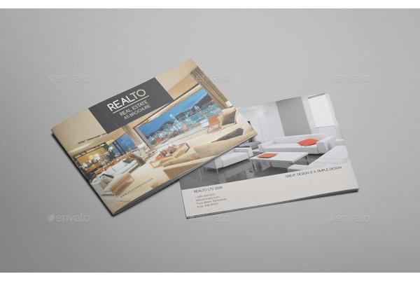 general real estate catalog brochure template