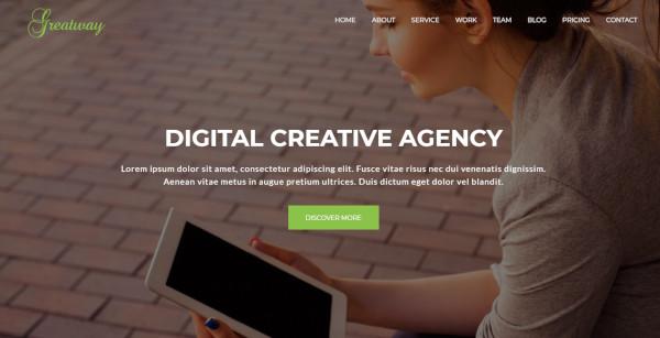 greatway custom wordpress theme