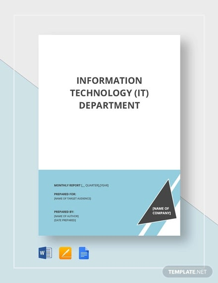 it report template1