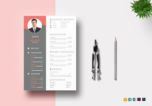 impressive job resume template