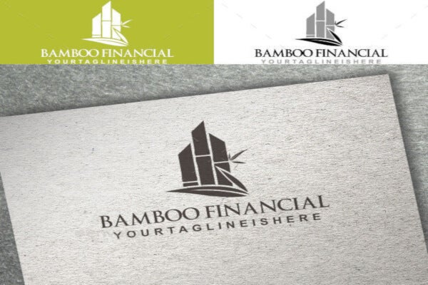 innovative financial logo template