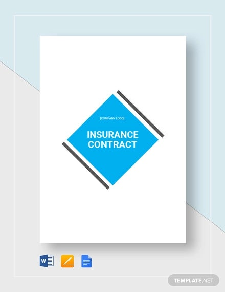 insurance contract template