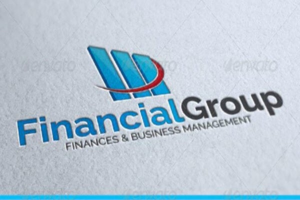 investment group financial logo template