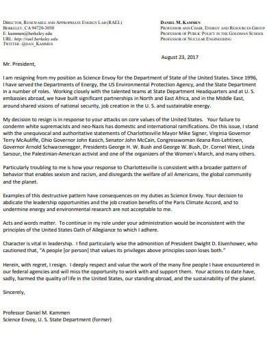 job resignation letter template2