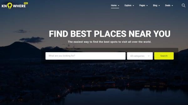knowhere pro – minimal wordpress theme