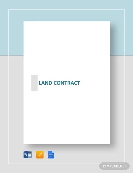 land contract
