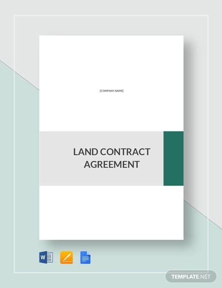 land contract agreement template