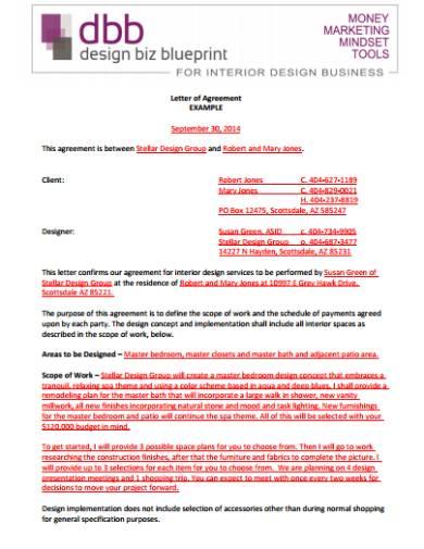 10 Interior Designer Contract Templates Sample Example Format Free Premium Templates