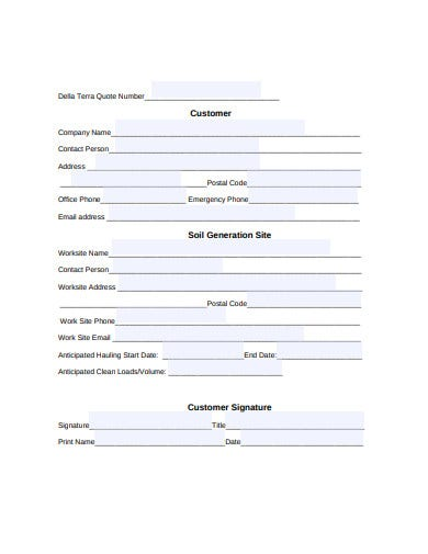 material acceptance agreement template