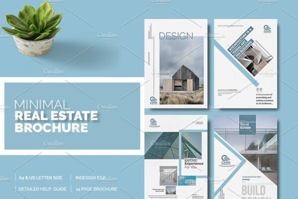 Minimal Real Estate Brochure Template