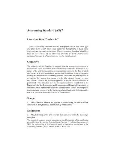 minimalist construction contract template