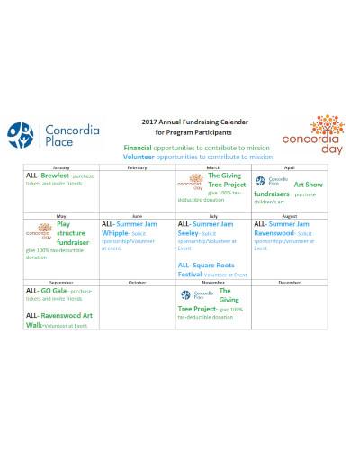 modern fundraising calendar3