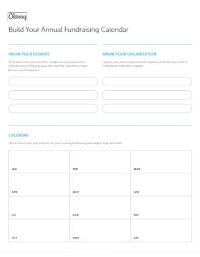 modern fundraising planner