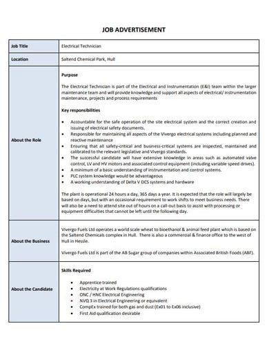 10 job advertisement templates ai pages psd pdf. Black Bedroom Furniture Sets. Home Design Ideas