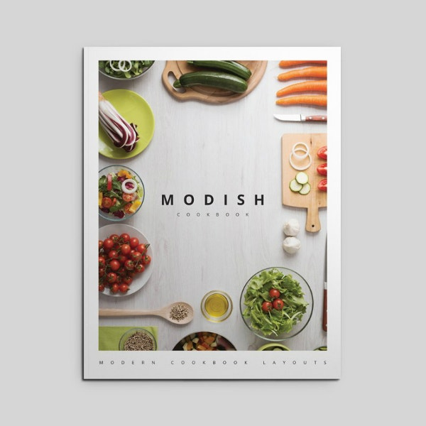 Modish Restaurant Recipe Book Layout