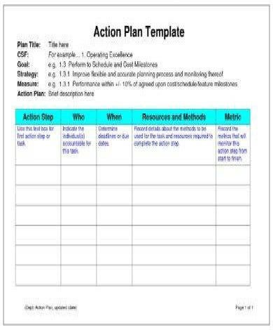 monthly business sales action plan example11