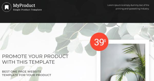 my product custom wordpress theme