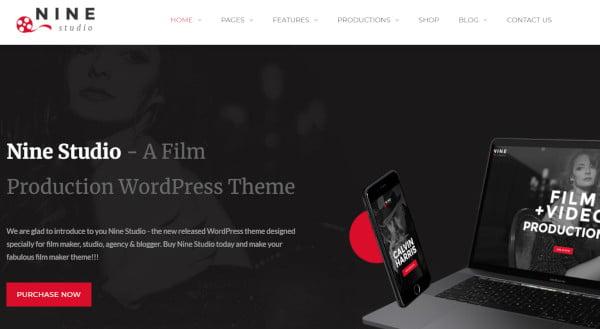 nine studio bootstrap wordpress theme