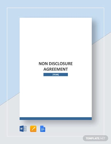 non disclosure agreement template1