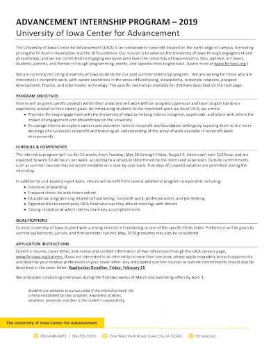 non profit letterhead format in pdf