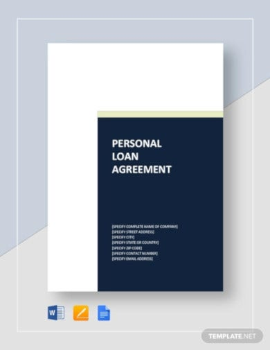 personal loan agreement template1