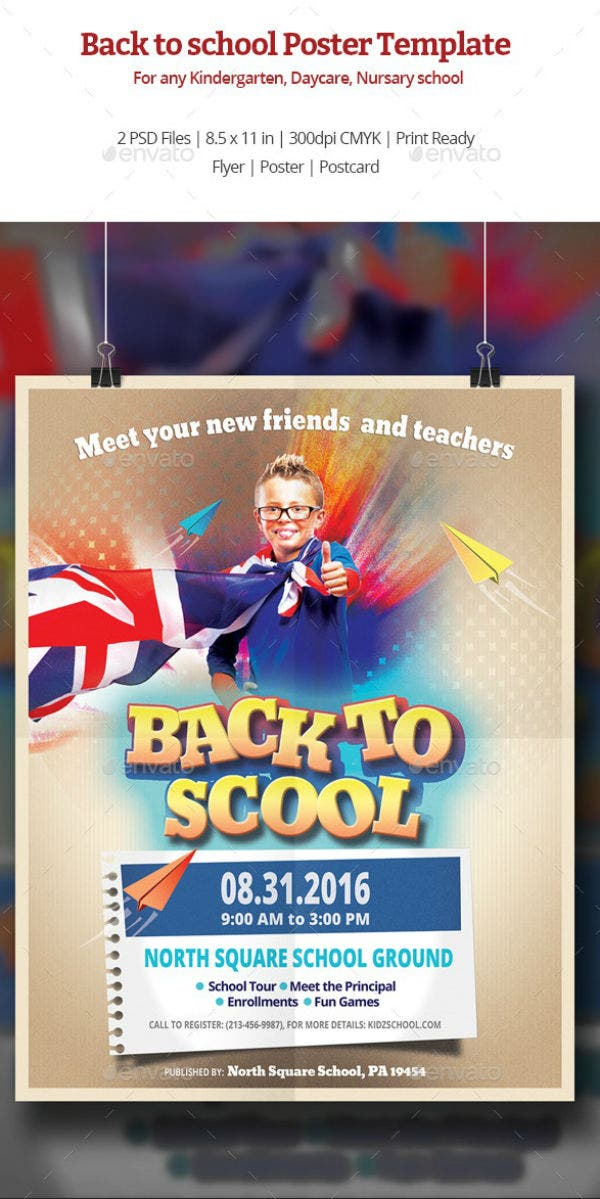 preview back to school poster