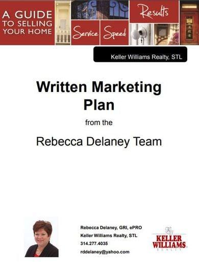 printable real estate marketing plan
