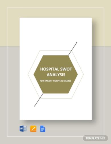 printable swot analysis template