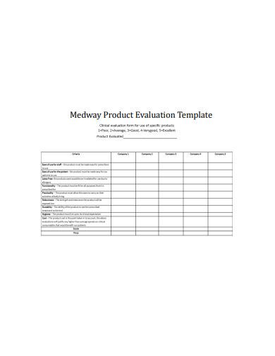 Kostenloses Standard Evaluation Report 5