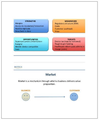 product marketing analysis template