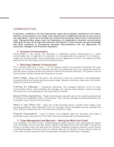 professional consulting company profile in pdf