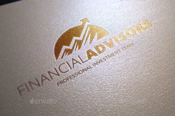 professional financial logo template