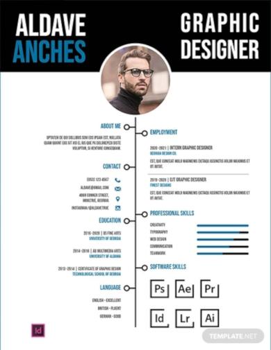 professional fist job resume template