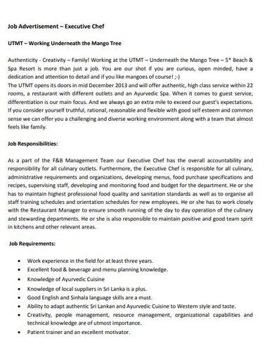 10+ Job Advertisement Templates - AI, Pages, PSD, PDF | Free