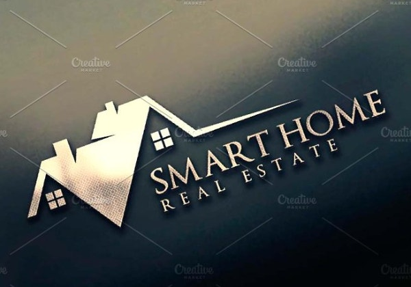 professional realtor house logo template