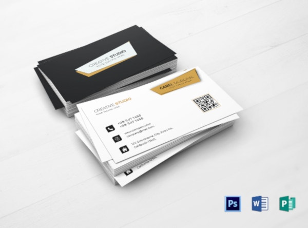 professional services business card template