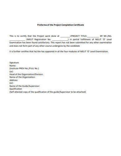 project-completion-certificate-proforma