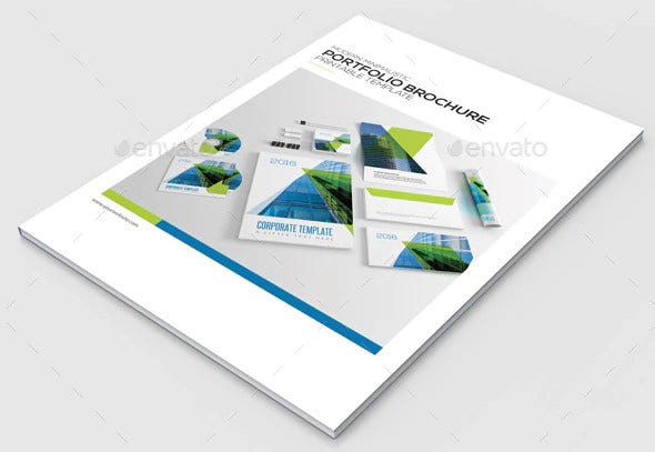 project portfolio brochure template