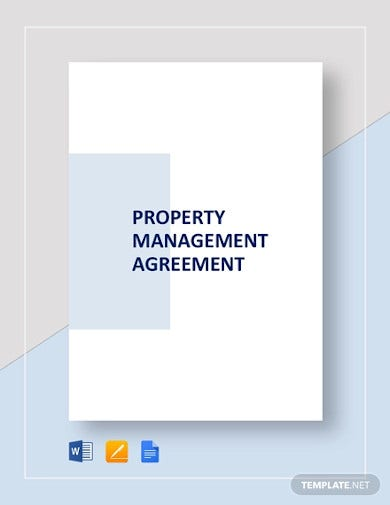 property management agreement template1