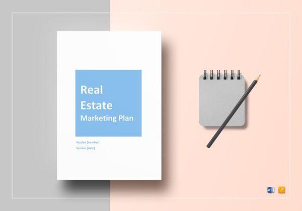 real estate marketing plan example