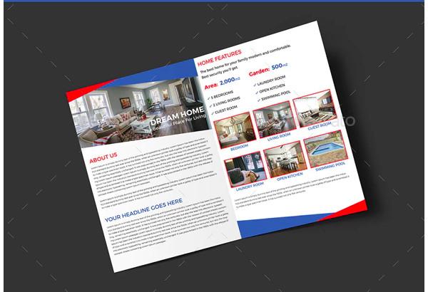 real estate sample brochure