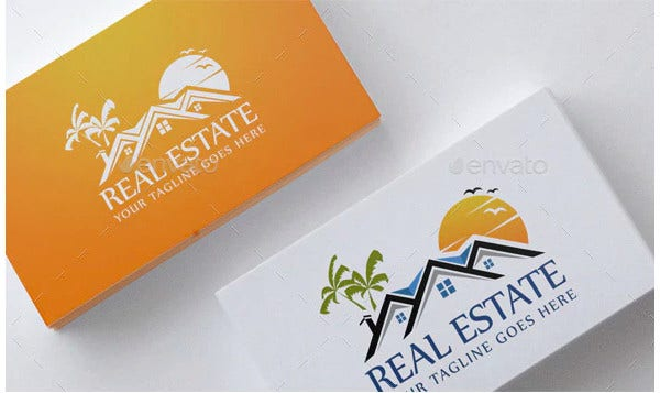 realtor logo template sample