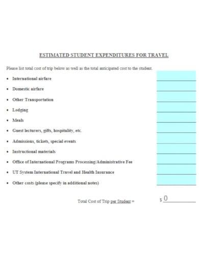 recreational travel proposal template