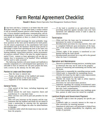 17 Agreement Checklist Templates Google Docs Pages